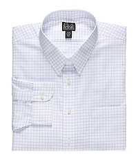 Travelers Big and Tall Point Collar Dress Shirt