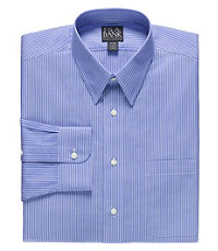 Factory Store Non-Iron Big and Tall Point Collar Dress Shirt