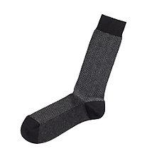 Herringbone Mid-Calf Socks
