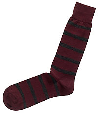 Stripe Mid-Calf Socks