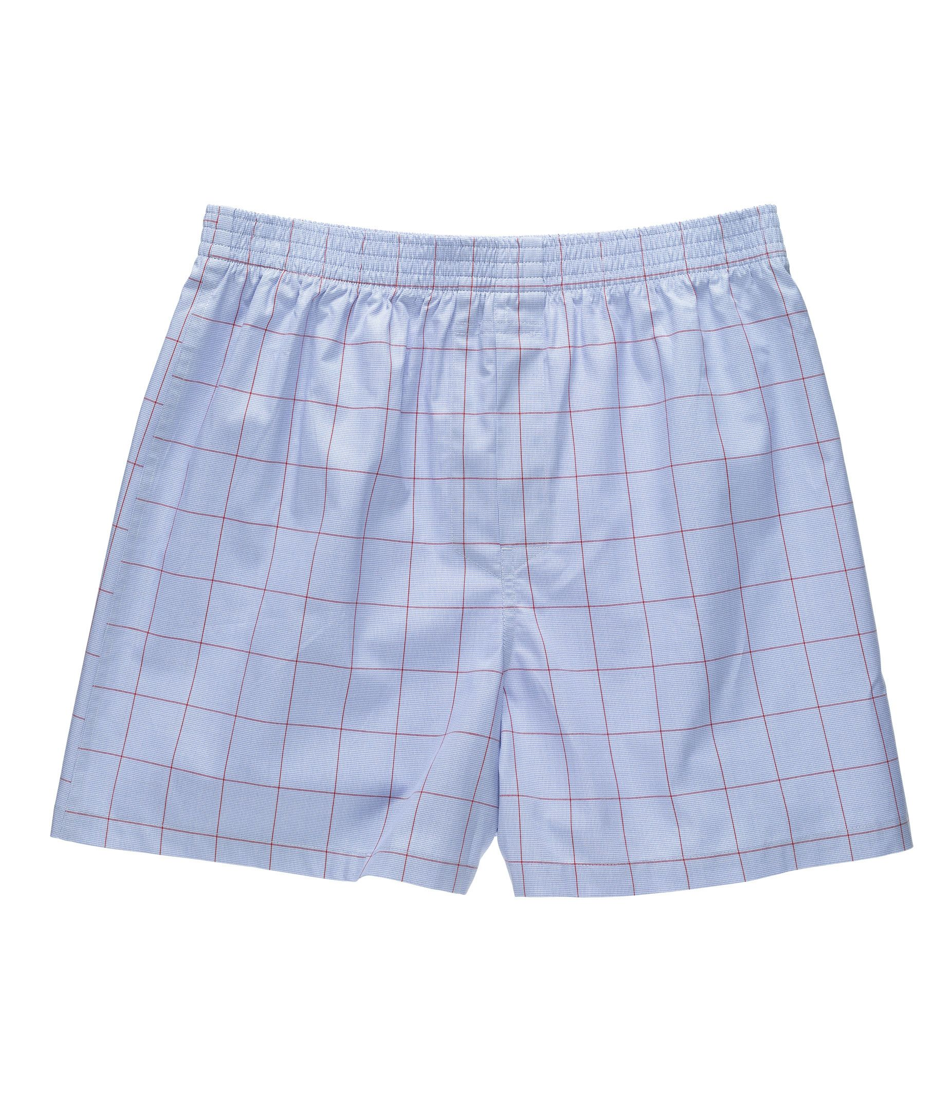 Houndstooth with Windowpane Boxers
