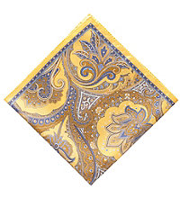Ornamental Tapestry Pocket Square