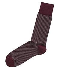 Factory Tonal Stripe Mid Calf Socks
