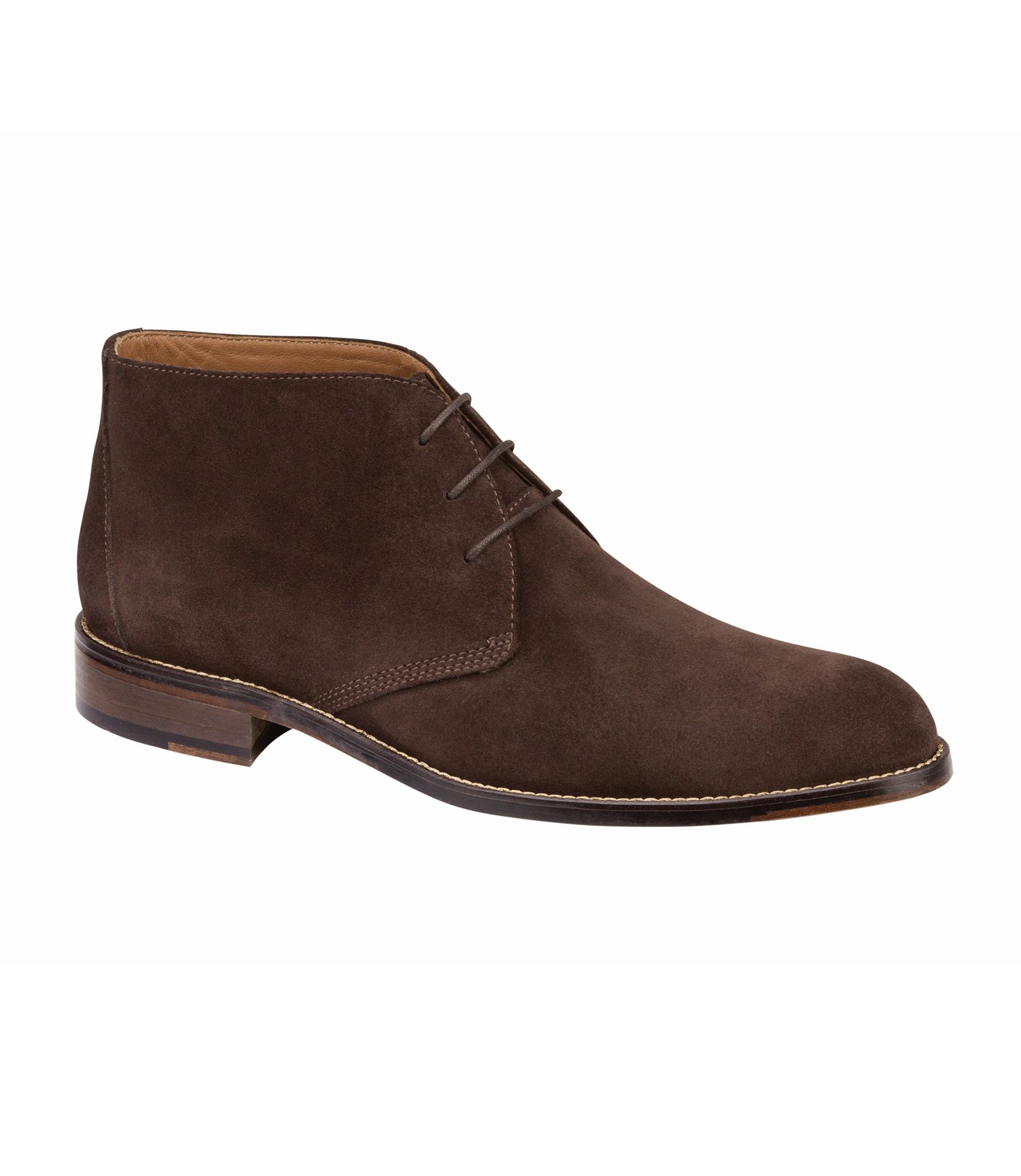 Hartley Chukka Shoe by Johnston and Murphy