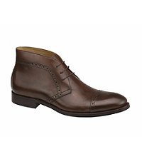 Tyndall Cap Toe Chukka by Johnston and Murphy