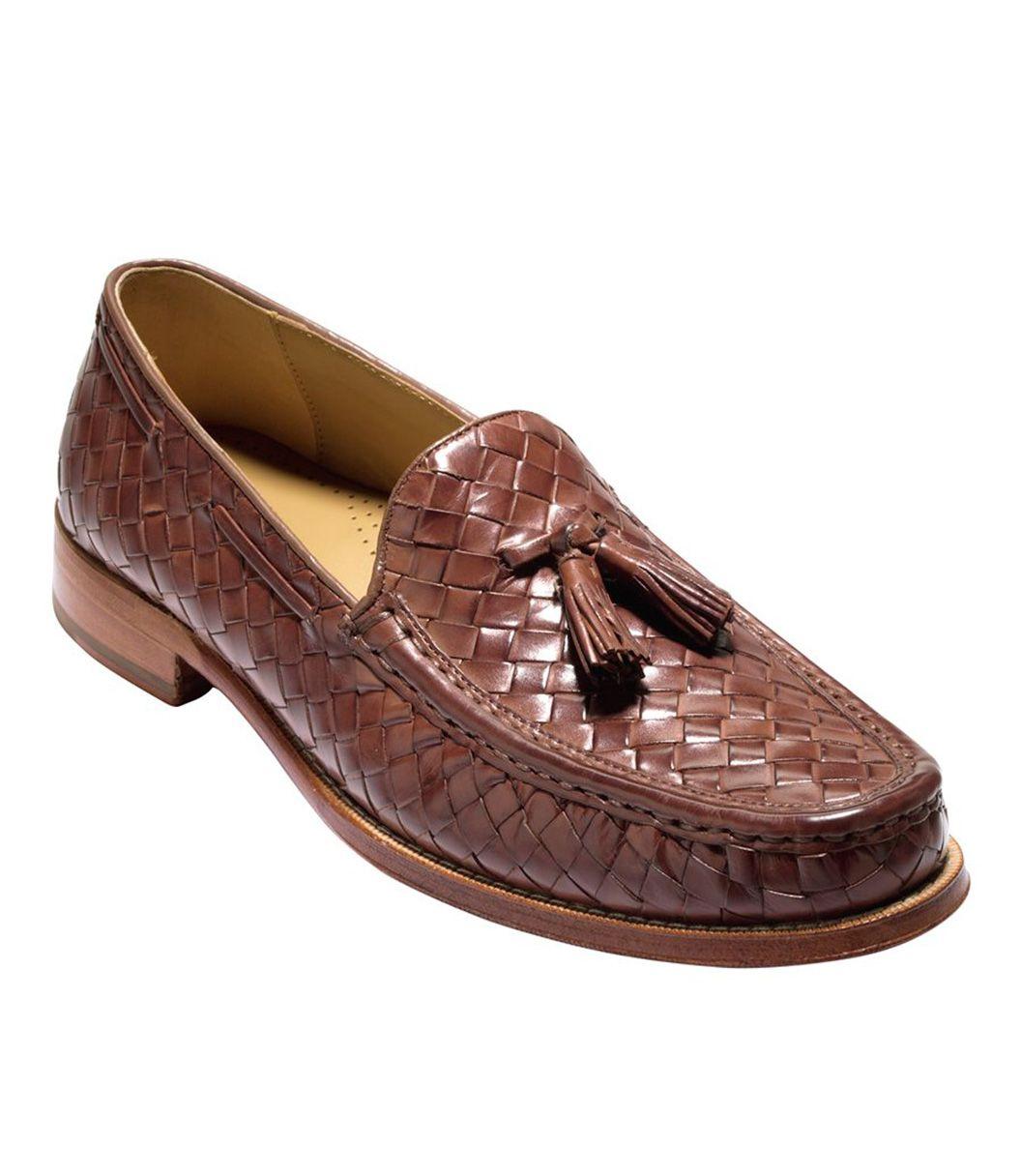 81c5b7e471d Brady Woven Tassel Shoe By Cole Haan. Classic tasseled belgian loafer ...