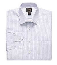 Signature Gold Tailored Fit Spread Collar Dress Shirt