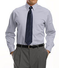 Factory Store Non-Iron Slim Fit Point Collar Dress Shirt