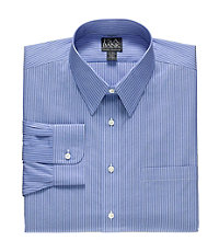 Factory Store Non-Iron Tailored Fit Point Collar Dress Shirt