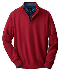 Cotton Sweater Half Zip