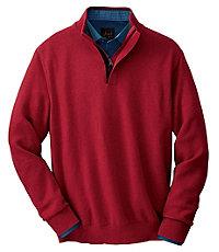 Cotton Sweater Half Zip