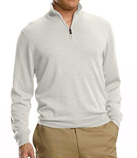 Signiture Merino Wool Half-Zip Sweater