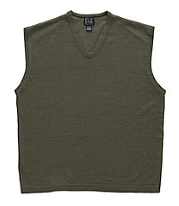 Signature Merino Wool Vest Sweater
