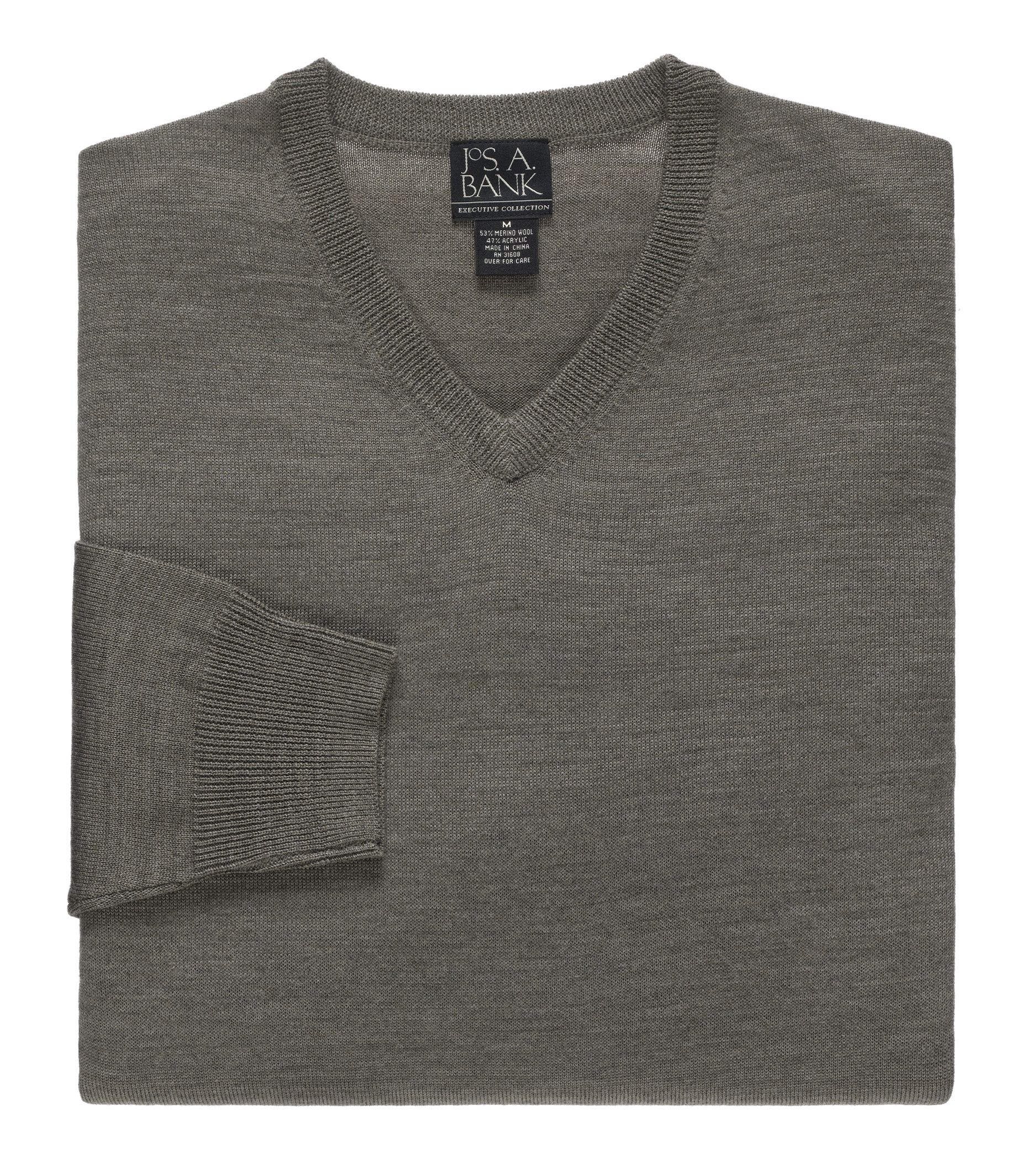 Executive Merino V Neck Sweater