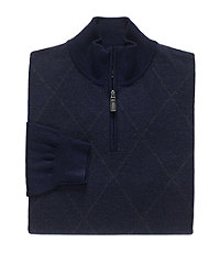Signiture Merino Wool Diamond Argyle Sweater