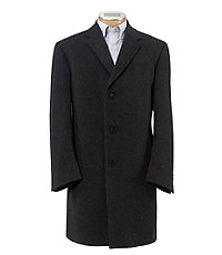 Signature Cashmere Three-Quarter Length Topcoat Extended Sizes