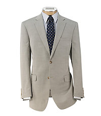 Tropical Blend 2 Button Tailored Fit Suit, Plain Front Trousers Extended Sizes