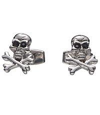 Skull and Crossbones Cufflink