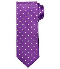 Heritage Collection Satin White Dot Tie