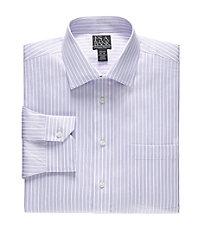 Signature Tailored Fit Spread Collar, Barrell Cuff Dress Shirt