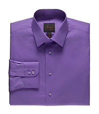 Joseph Spread Collar Slim Fit Dress Shirt