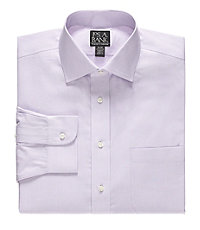 Traveler Traditional Fit Spread Collar Dress Shirt