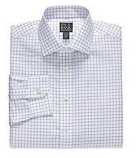 Traveler Tailored Fit, Spread Collar Dress Shirt