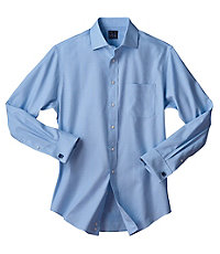 Traveler Tailored Fit, Spread Collar, French Cuff Dress Shirt