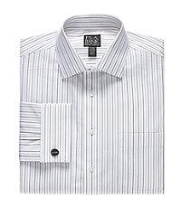 Traveler Big and Tall, Spread Collar, French Cuff Dress Shirt