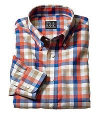 Traveler Buttondown Patterned Long Sleeve Sportshirt