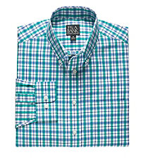 Traveler Buttondown Patterned Long Sleeve Sportshirt