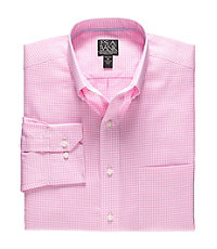 Signature Long-Sleeve Wrinkle-Free Cotton Buttondown Sportshirt