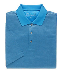 David Leadbetter Stays Cool Mini Jacquard Polo
