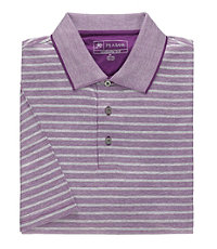 Stays Cool David Leadbetter Jacquard Polo
