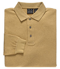 Traveler Long-Sleeve Interlock Polo Big/Tall