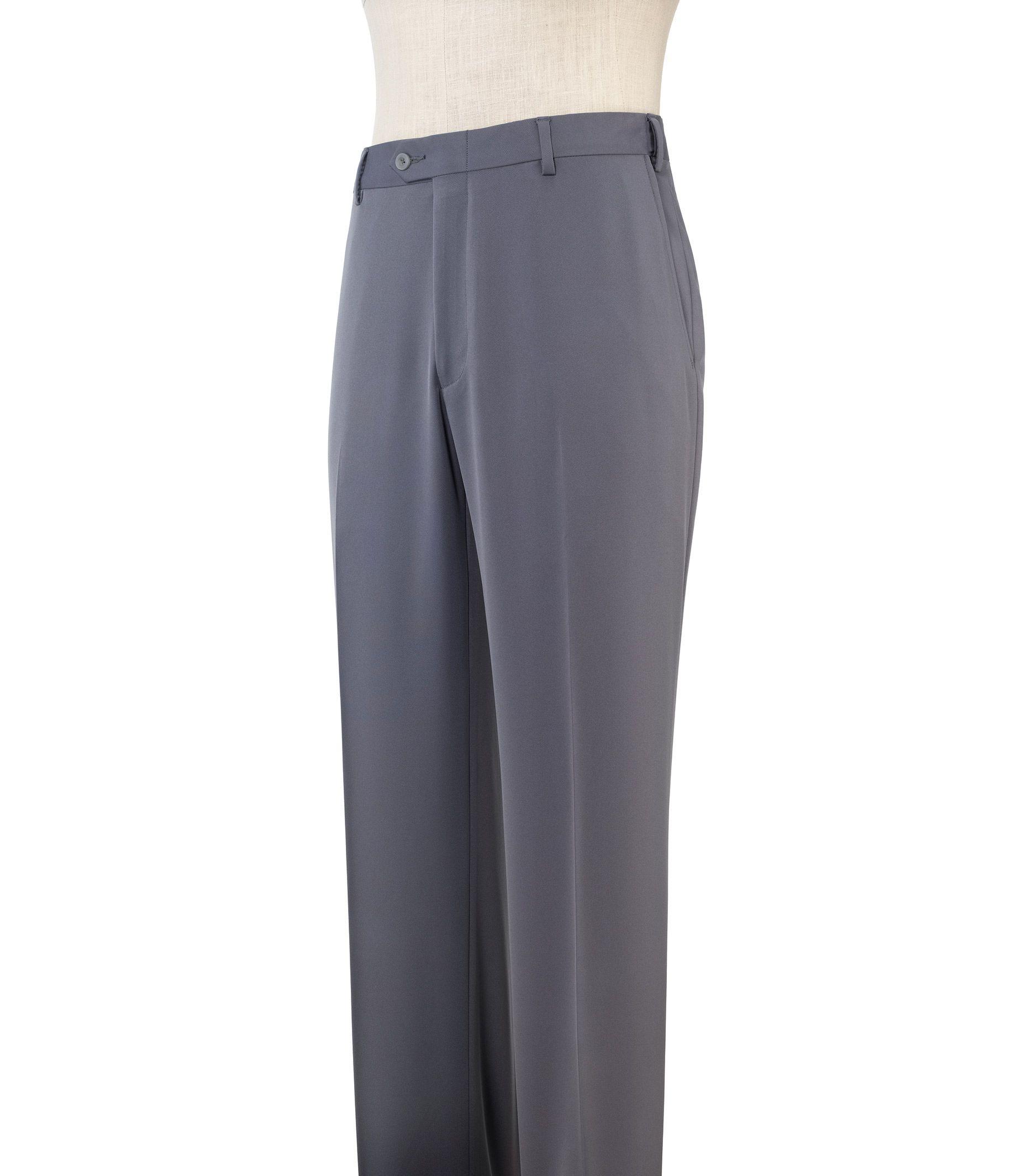 Davide Leadbetter Slider Plain Front Pants