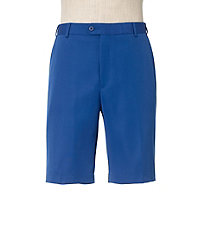 David Leadbetter Plain Front Tailored Fit Performance Shorts