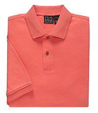 Traveler Short Sleeve Interlock Tailored Fit Polo