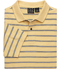 Traveler Striped Short Sleeve Big/Tall Polo