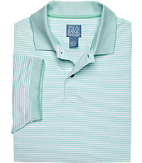 Stays Cool Short Sleeve Striped Polo