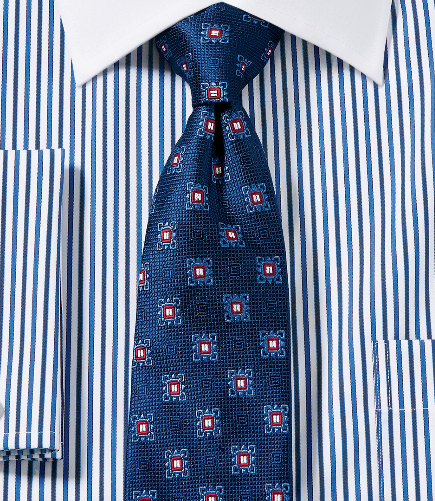 Heritage Collection Neat Square Medallion Tie