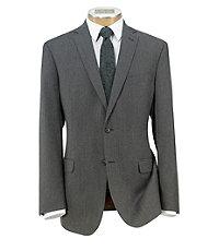 Joseph Slim Fit 2-Button Wool/Cashmere Plain Front Suit Extended Sizes