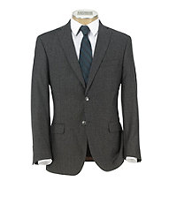 Joseph Slim Fit 2-Button Wool/Cashmere Plain Front Suit