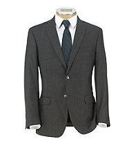 Joseph Slim Fit 2-Button Wool/Cashmere Plain Front Suit