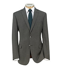 Jos. A. Bank Joseph Slim Fit 2-Button Wool/Cashmere Plain Front Suit
