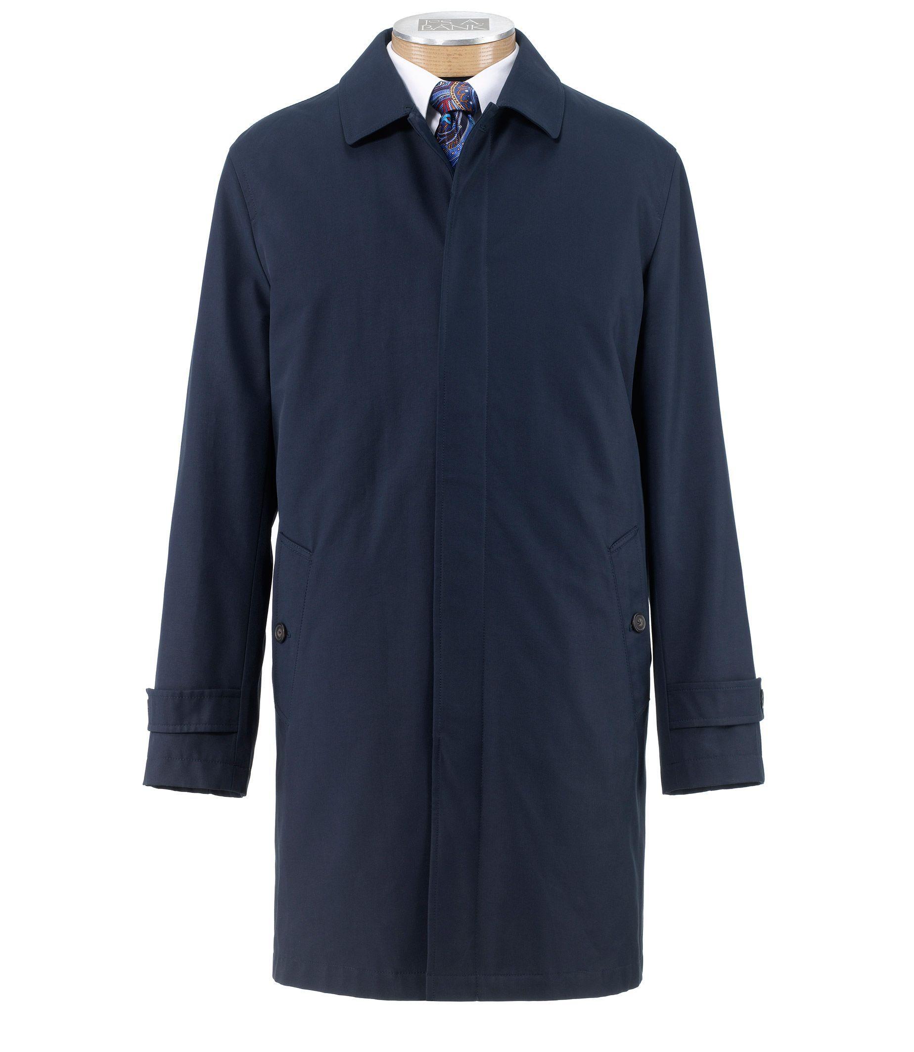 Executive Three-Quarter Length Raincoat