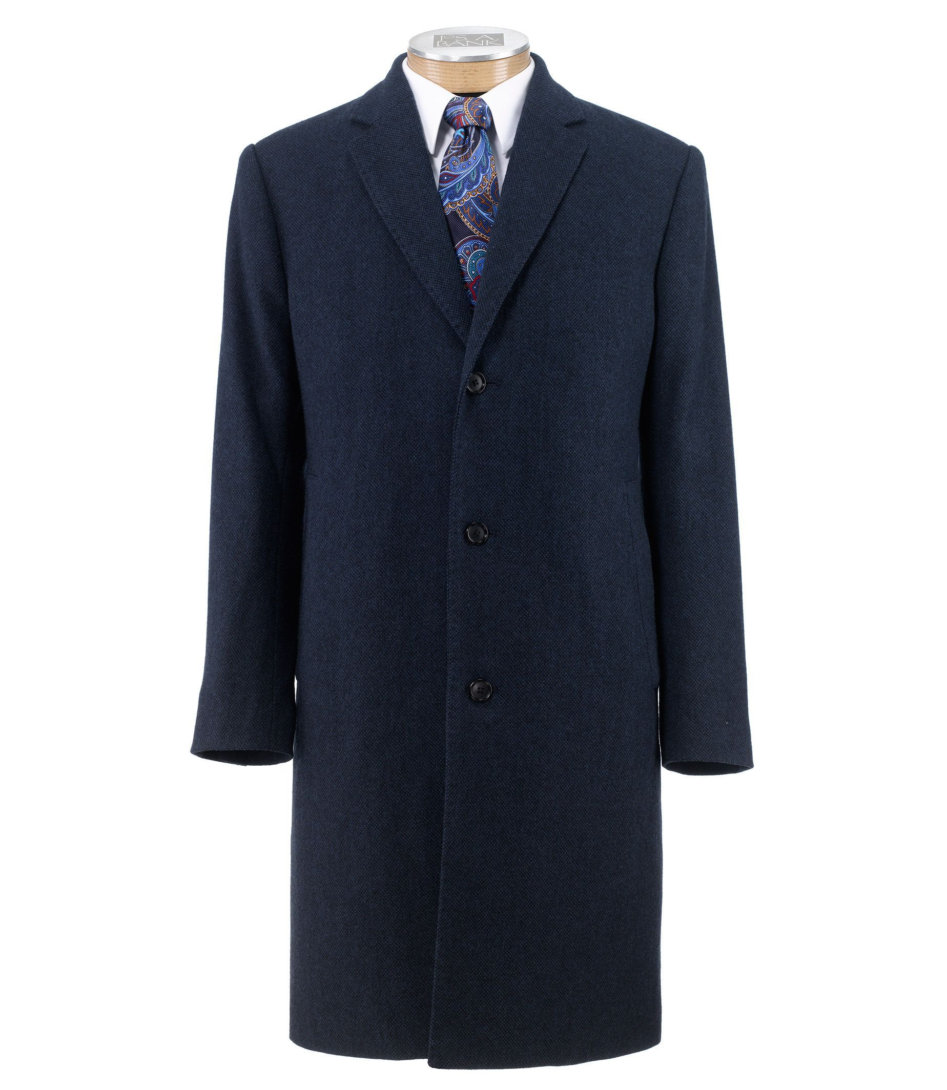 Executive Full Length Topcoat Extended Sizes