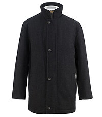 Tweed Button Front Jacket