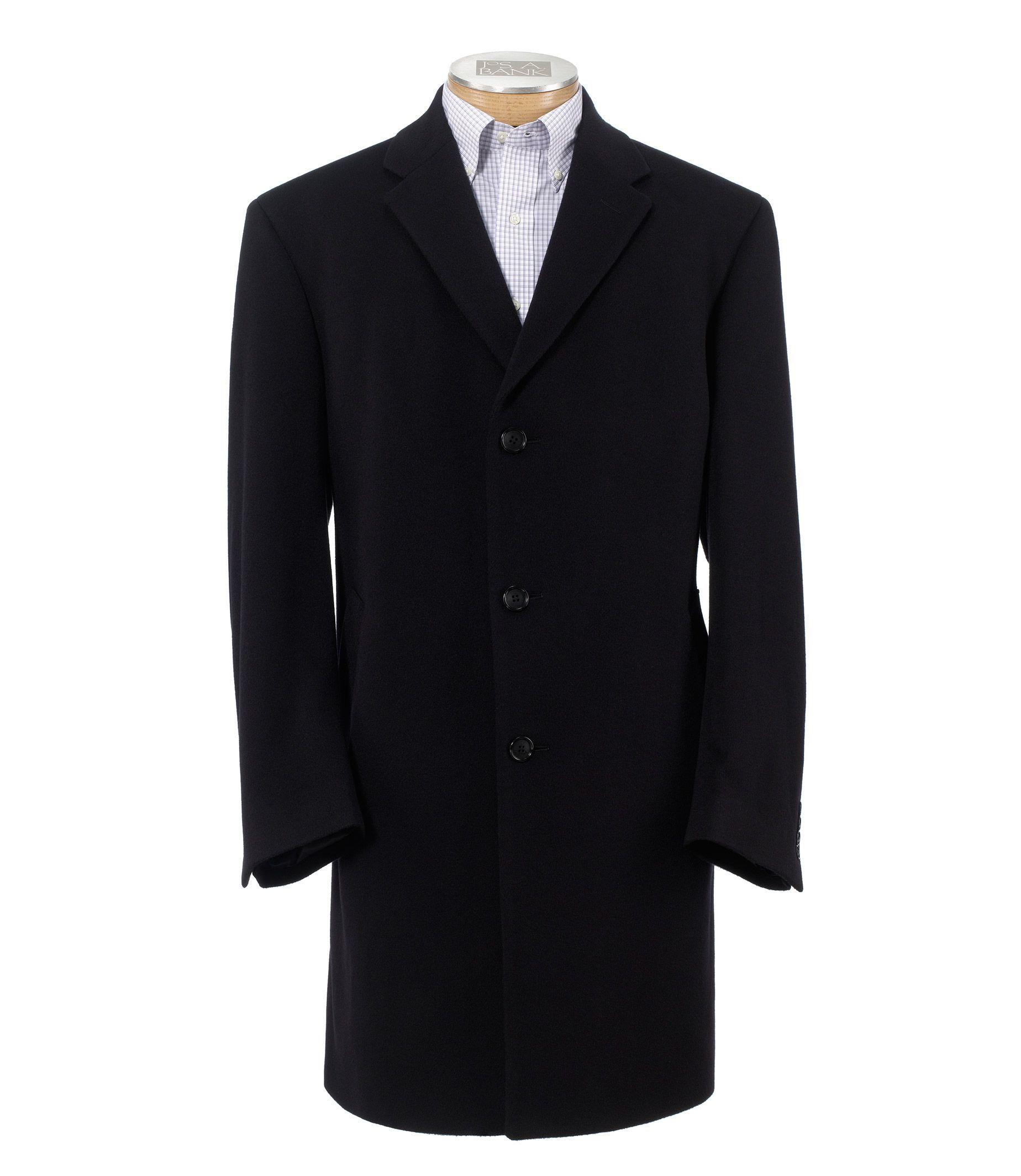 Signature Cashmere Three-Quarter Length Topcoat