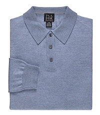 Signature Merino Wool Polo Sweater